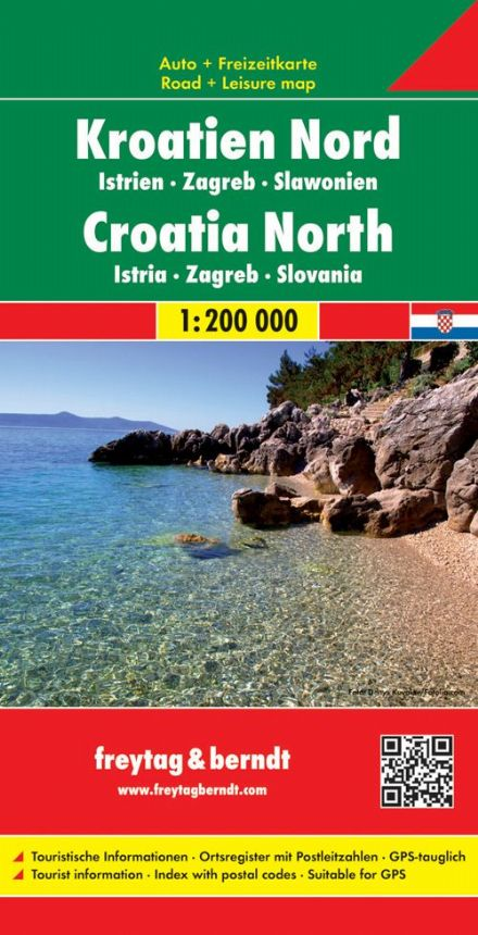 Croatia North - Freytag & Berndt 1:200,000